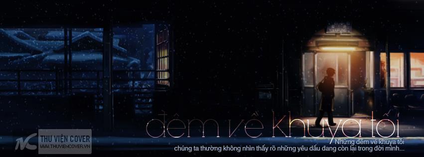 Ảnh bìa buồn cho facebook đêm về khuya
