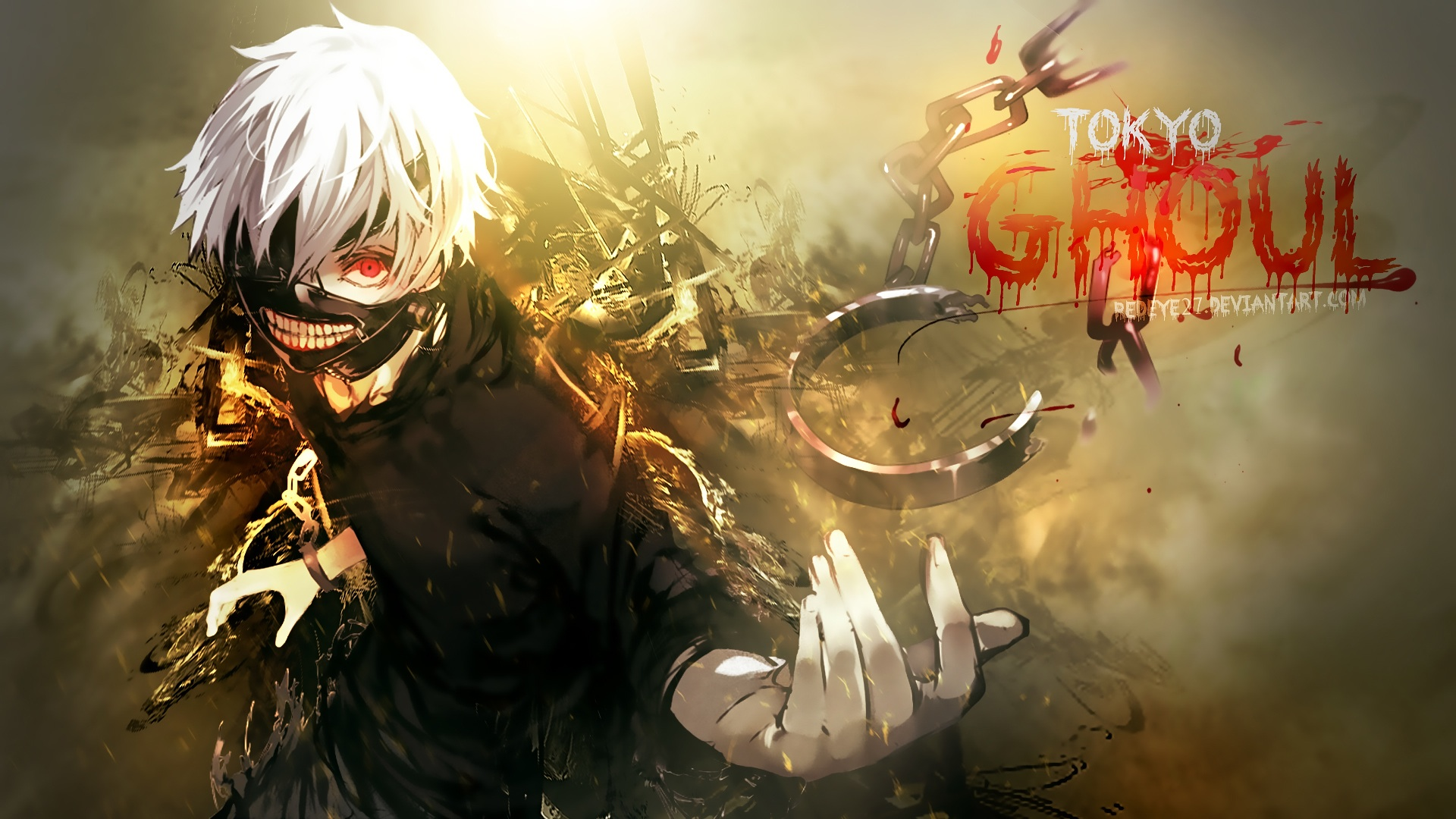 Ảnh nền anime Tokyo Ghoul - Ngạ Quỷ Kinh Đô