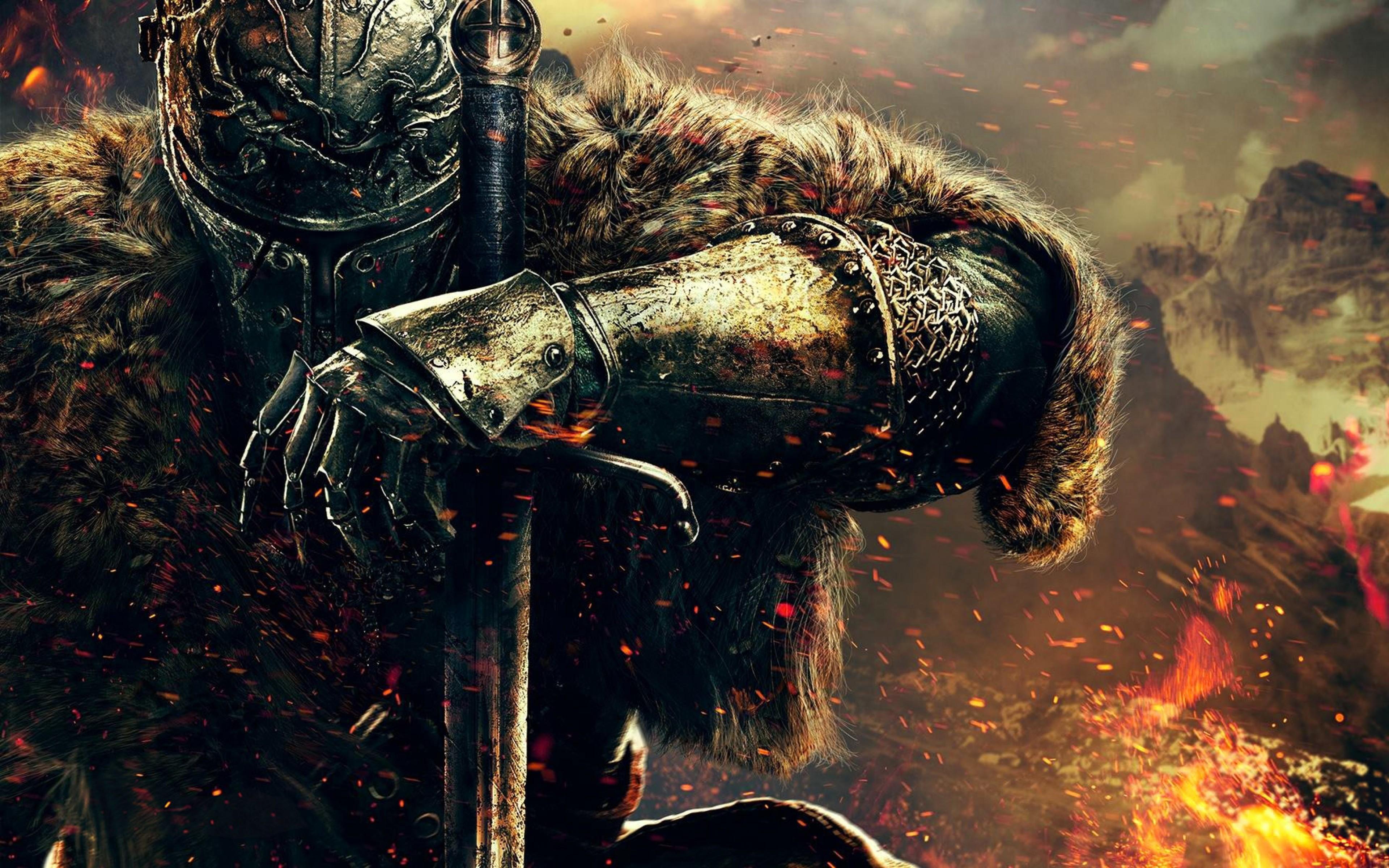 Ảnh nền đẹp kỵ sĩ chiến đấu