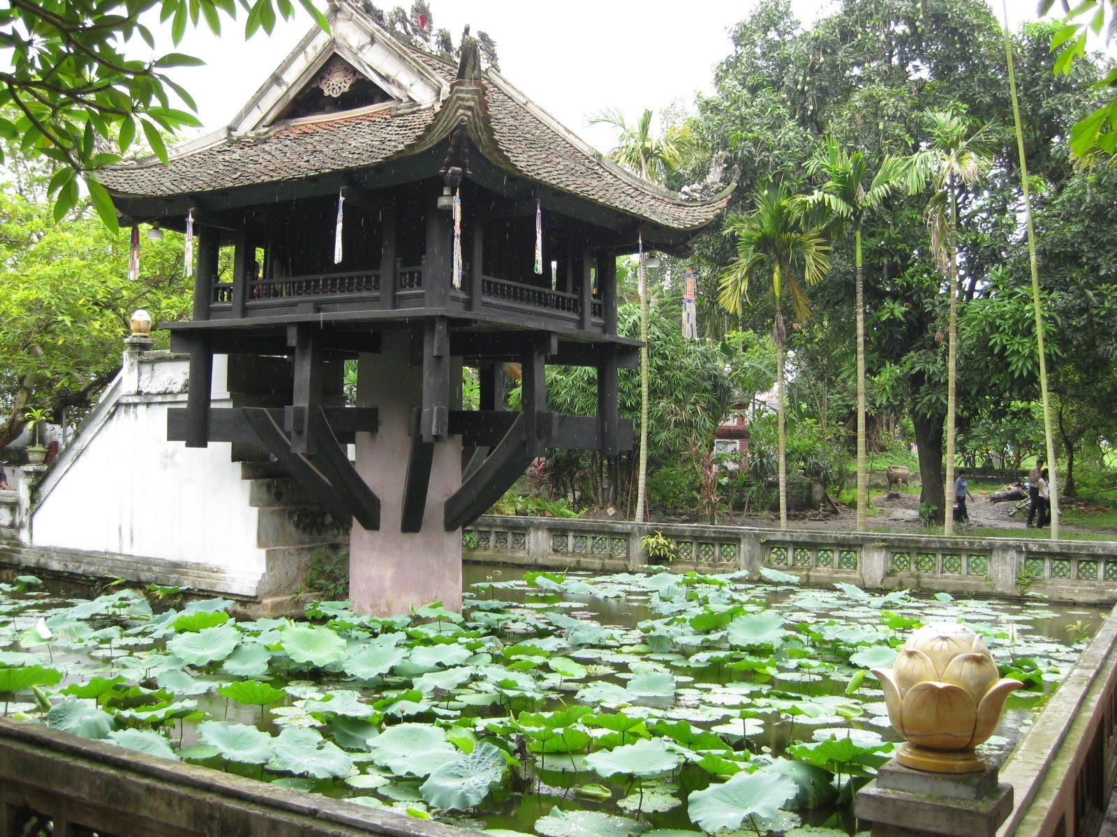 Hình ảnh chùa một cột Hà Nội đẹp