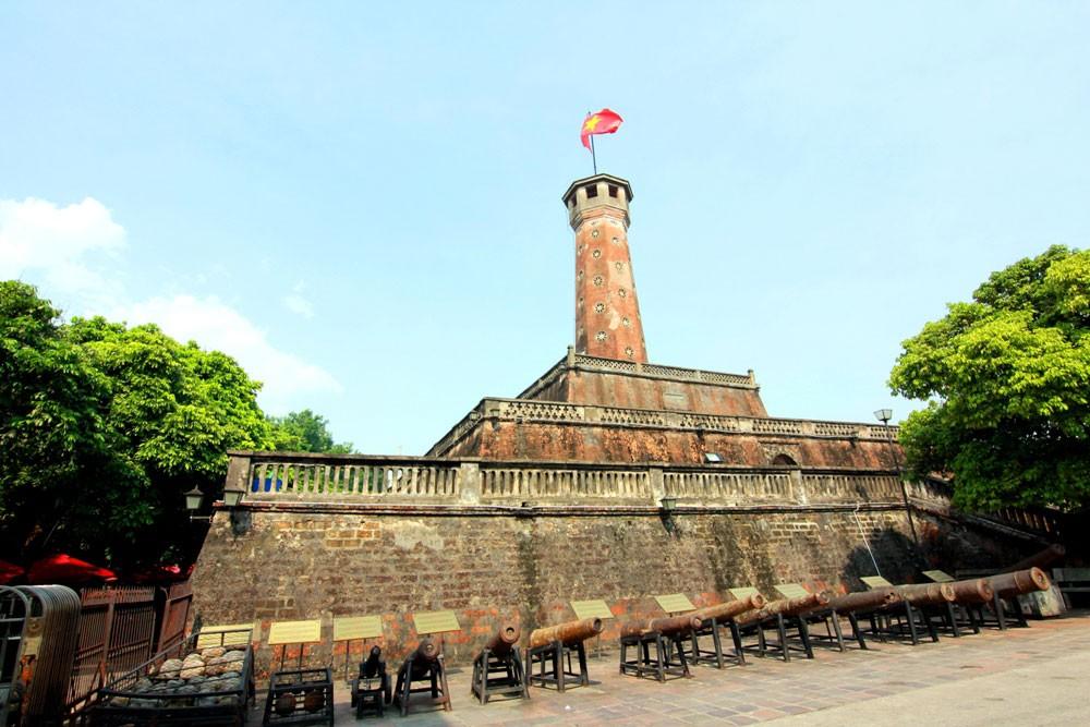 Hình ảnh cột cờ Hà Nội đẹp