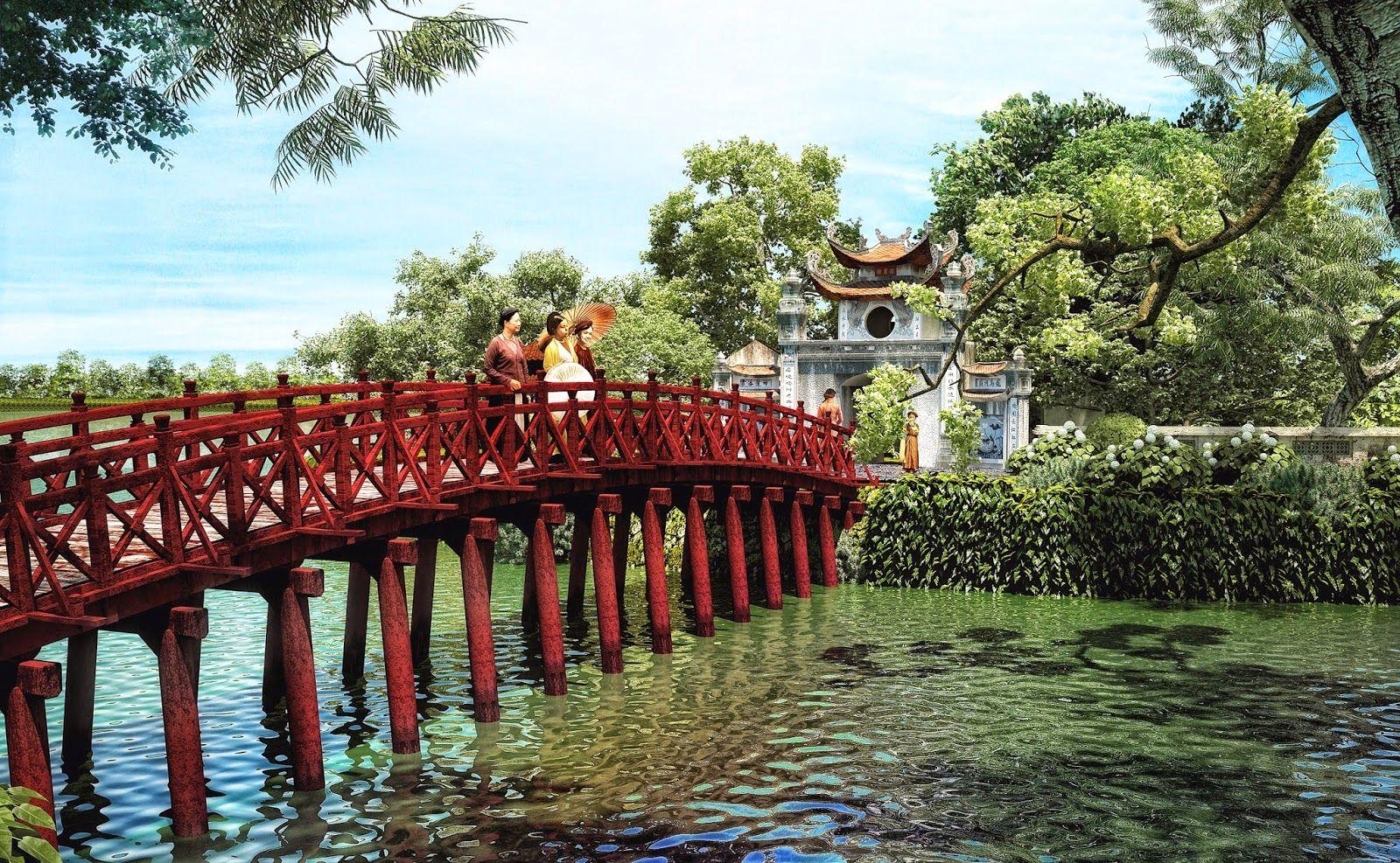 Hình ảnh đền Ngọc Sơn Hà Nội đẹp