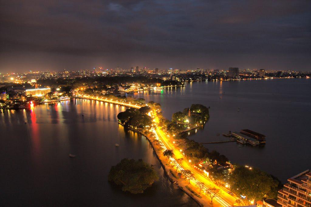 Hình ảnh Hà Nội về đêm đẹp nhất