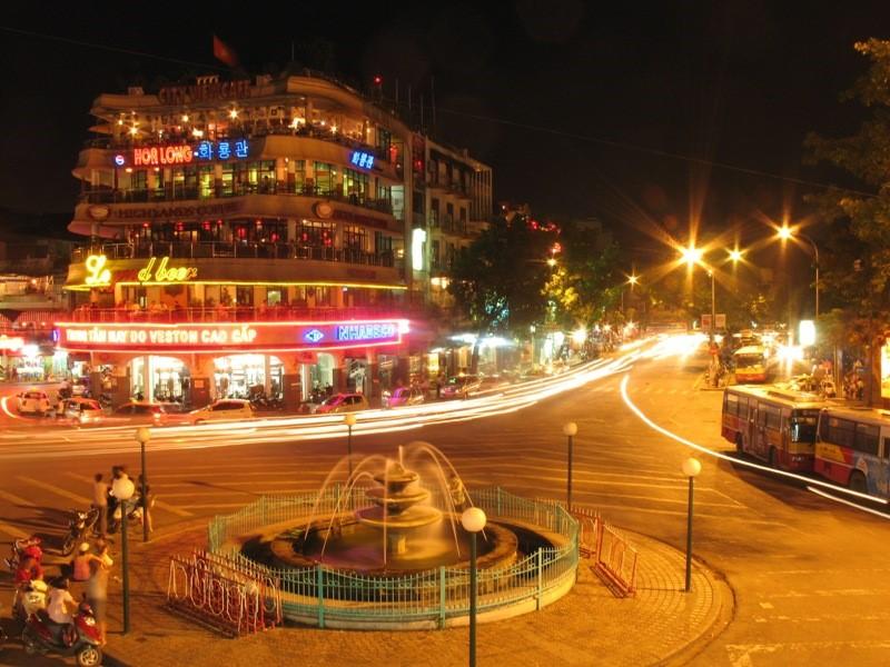 Hình ảnh Hà Nội về đêm