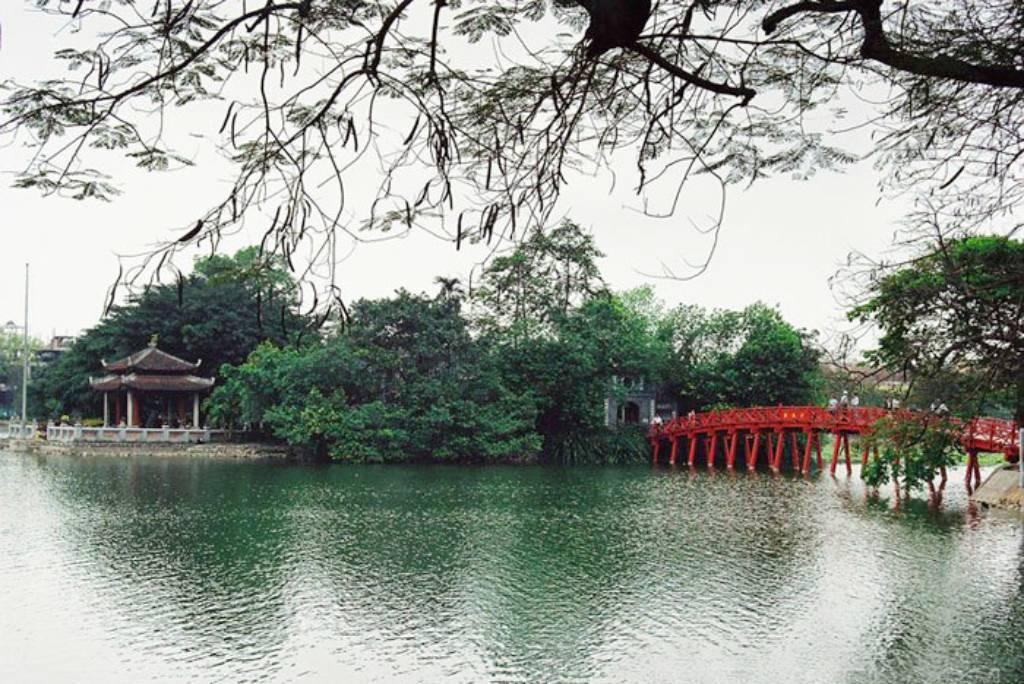 Hình ảnh hồ Gươm Hà Nội