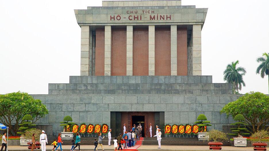 Hình ảnh lăng Bác ở Hà Nội