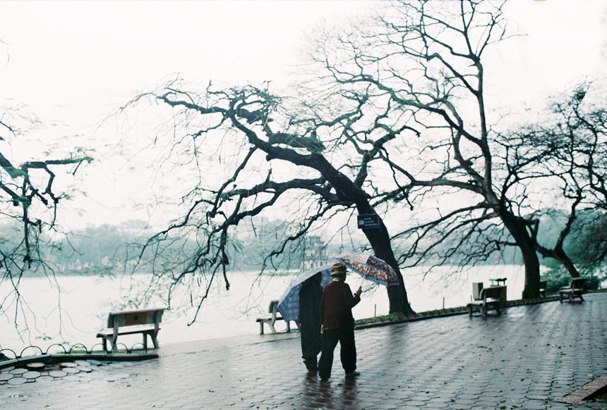 Hình ảnh mùa đông Hà Nội đẹp