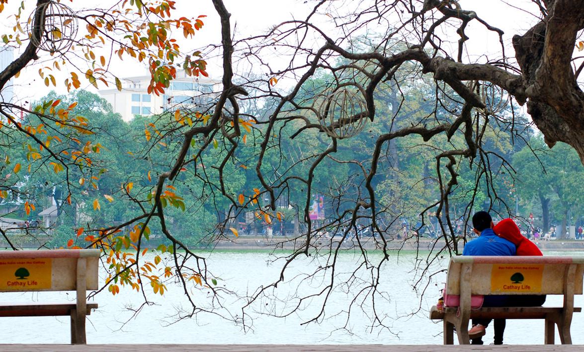Hình ảnh mùa đông Hà Nội