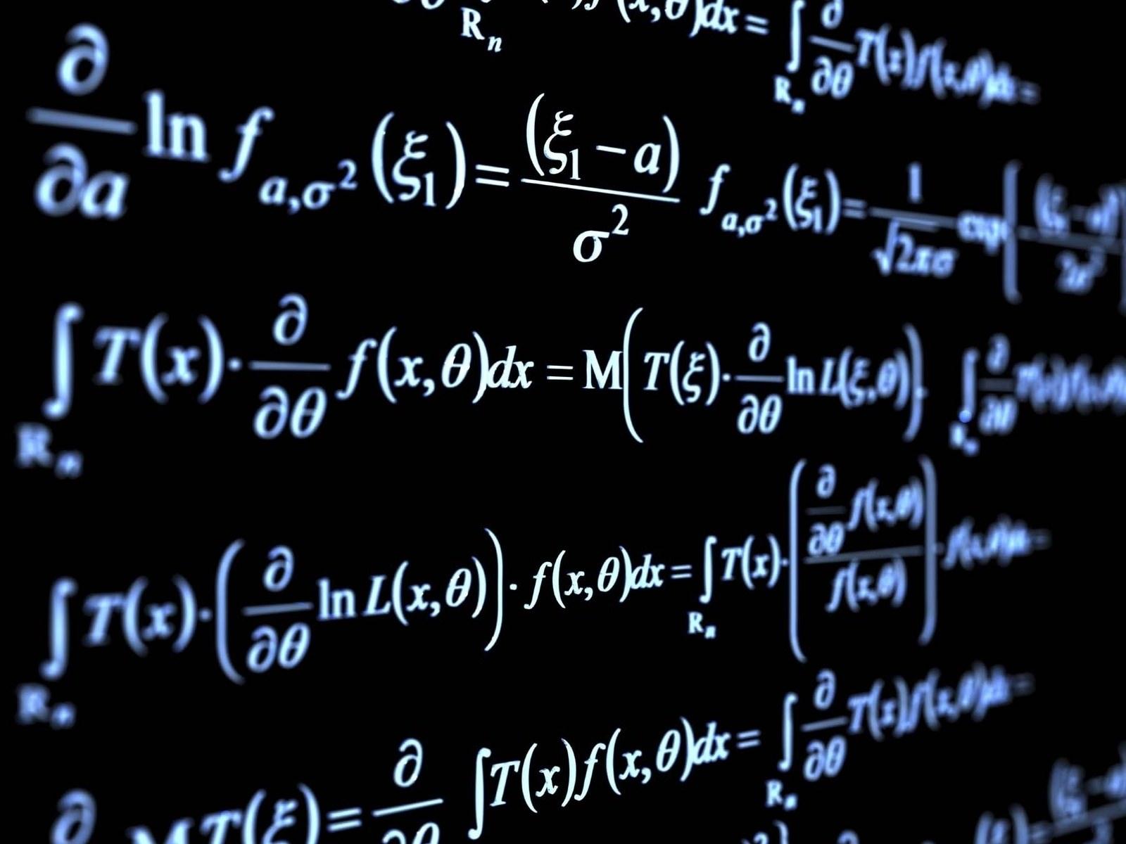 Hình ảnh nền toán học cực chất