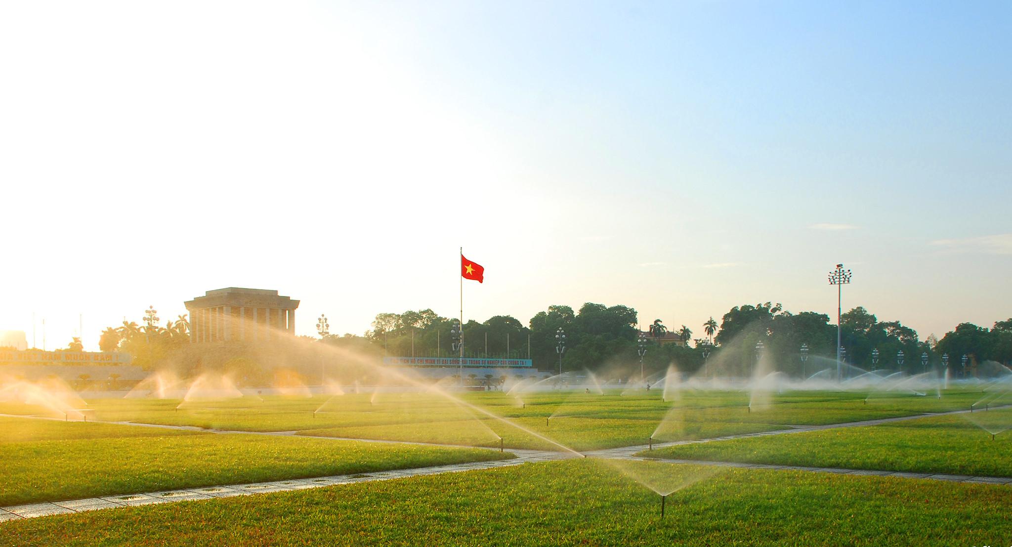 Hình ảnh quảng trường Ba Đình đẹp