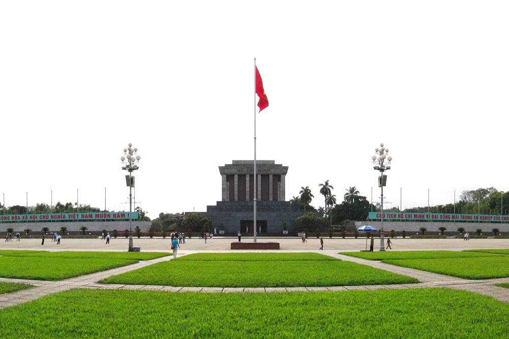 Hình ảnh quảng trường Ba Đình Hà Nội đẹp