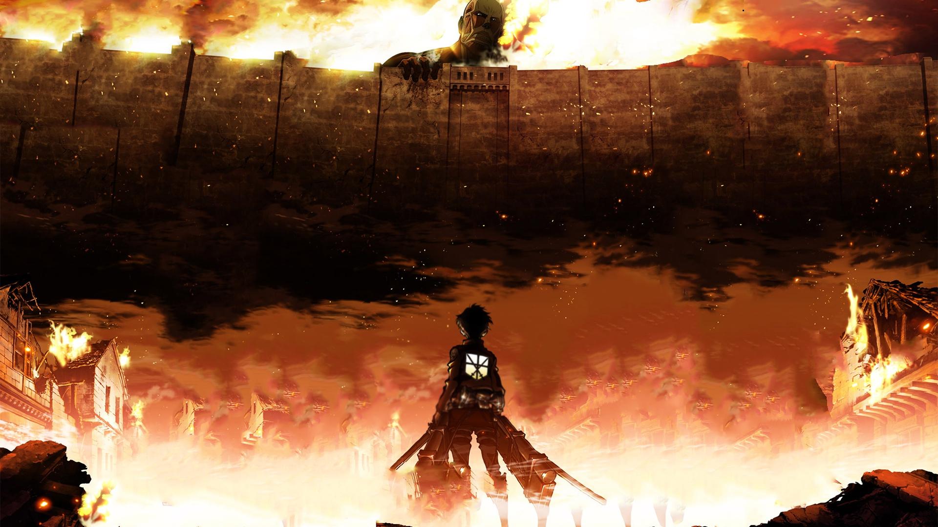 Hình nền anime Attack on Titan cực đẹp