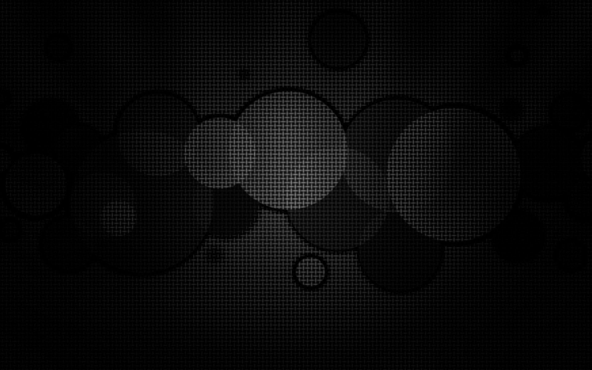 Hình nền màu đen cho máy tính