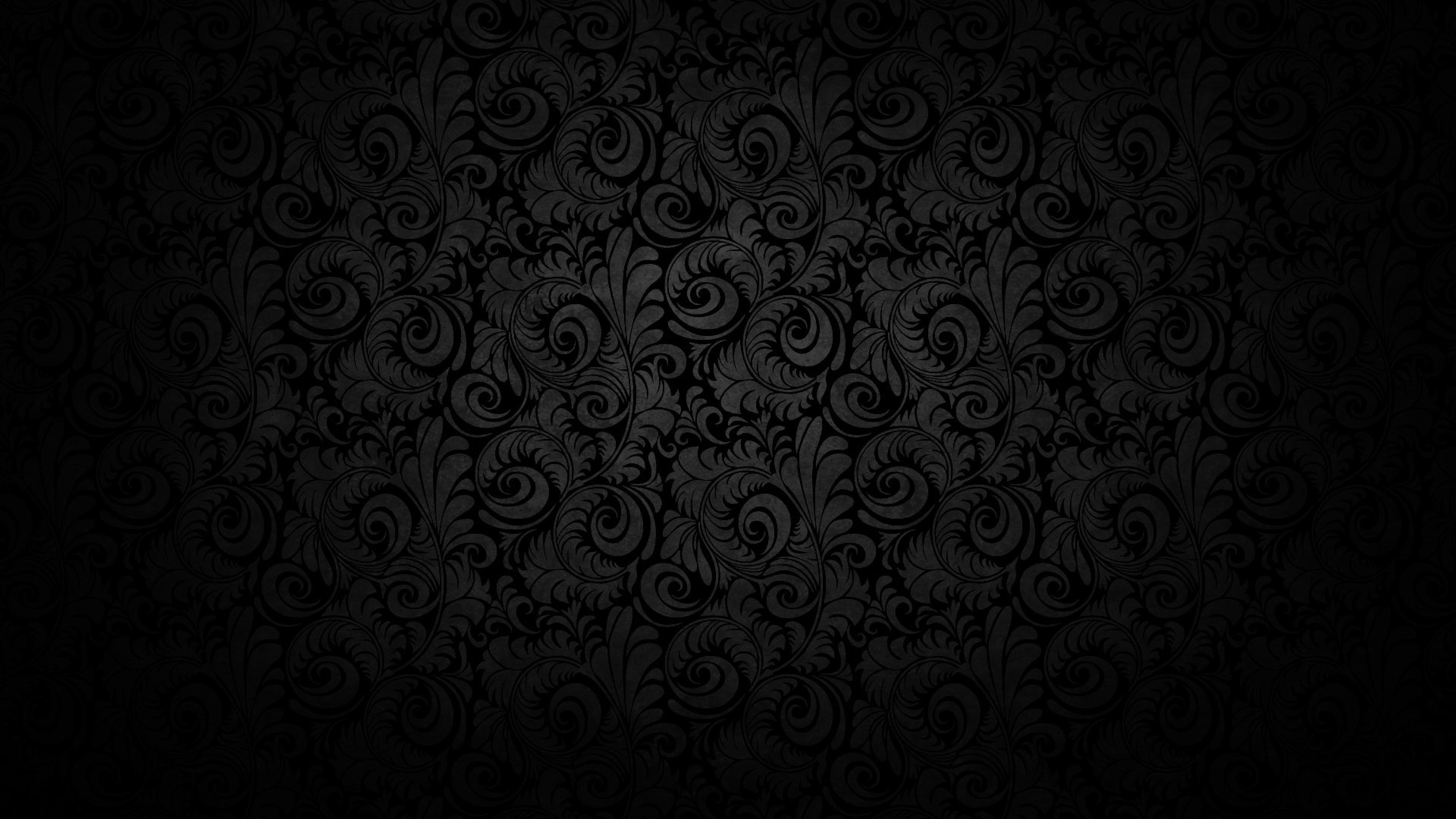 Hình nền màu đen đẹp cho laptop