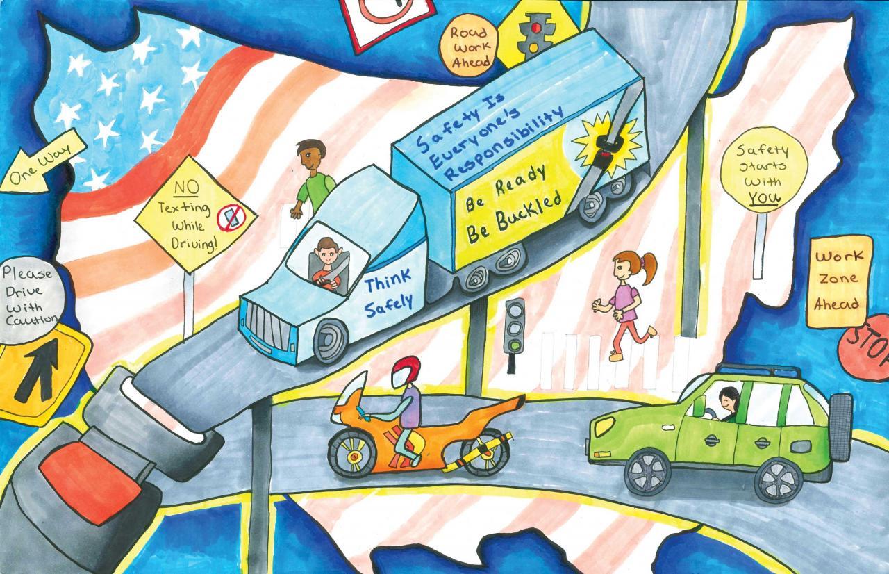 Tranh an toàn giao thông ý nghĩa