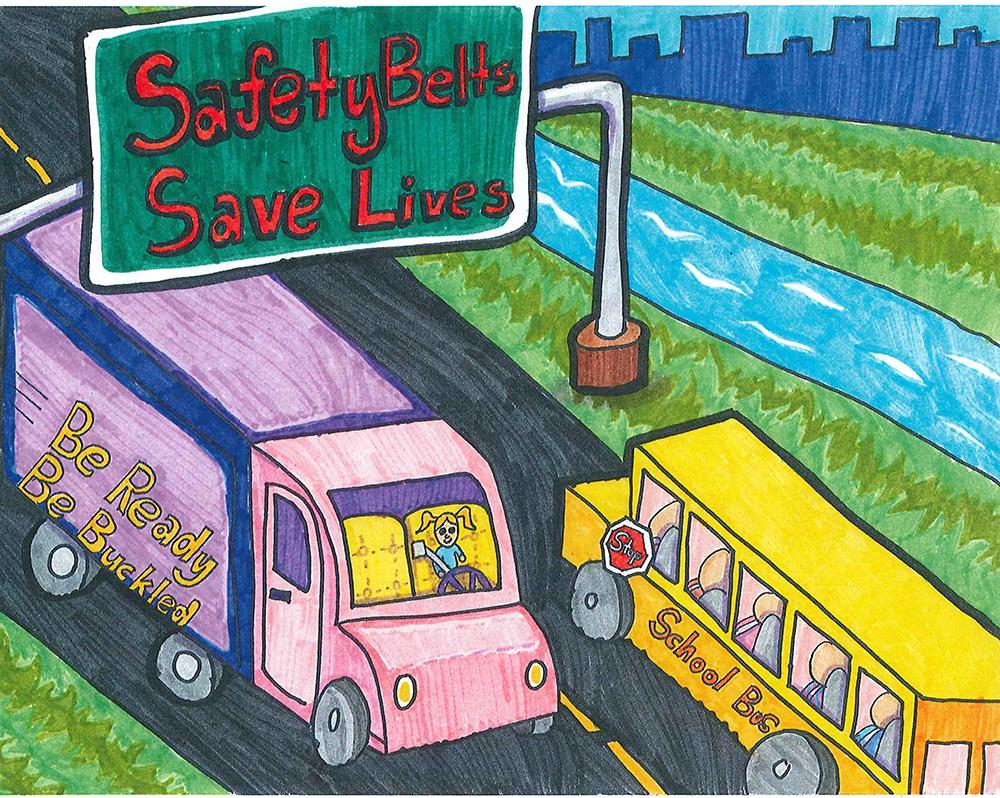 Tranh vẽ an toàn giao thông
