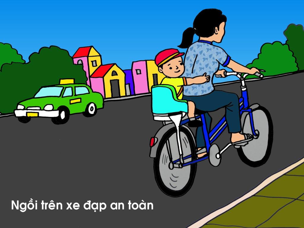 Tranh vẽ chủ đề an toàn giao thông