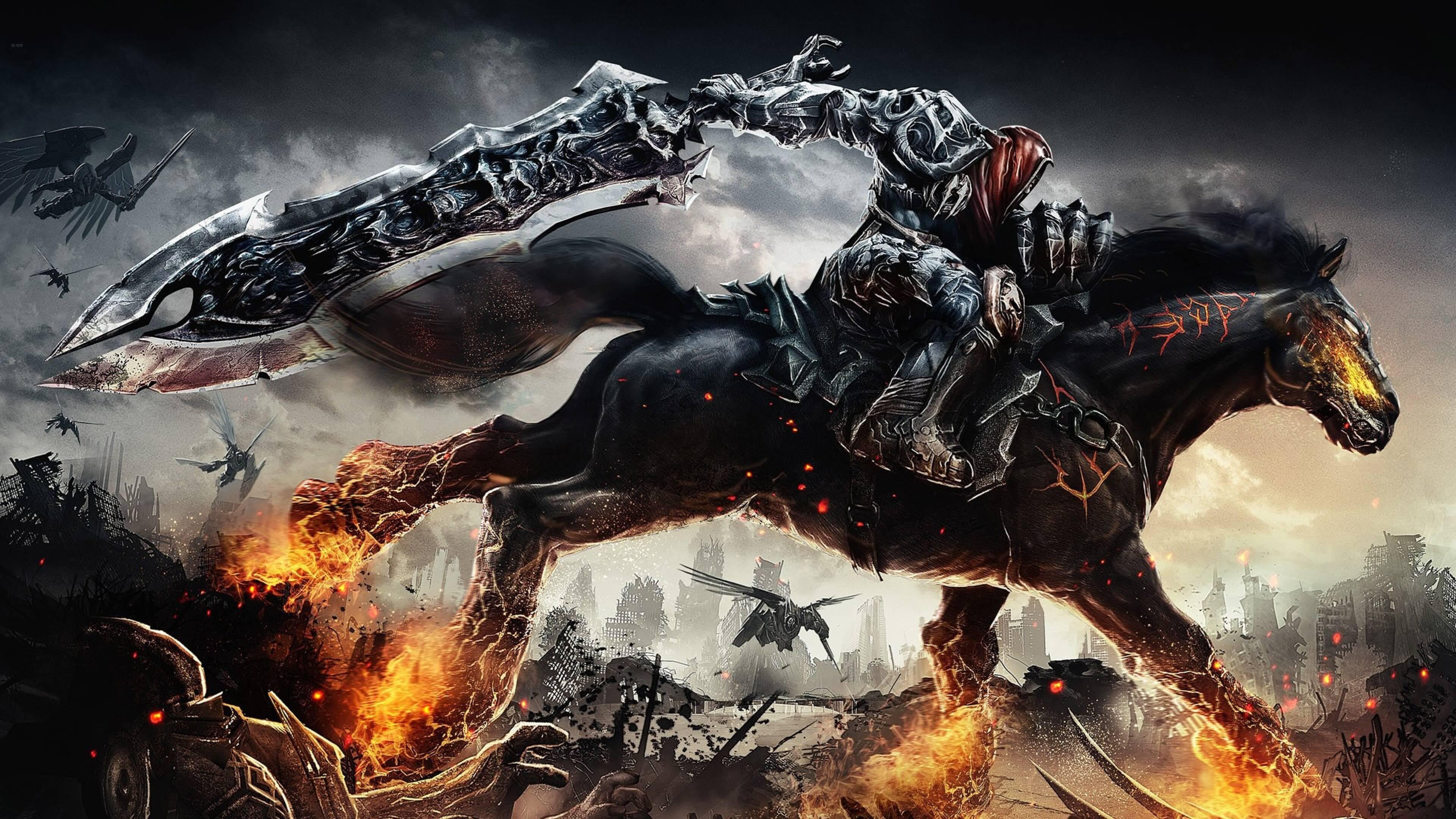 Hình nền kỵ sĩ bóng đêm Dark Knight