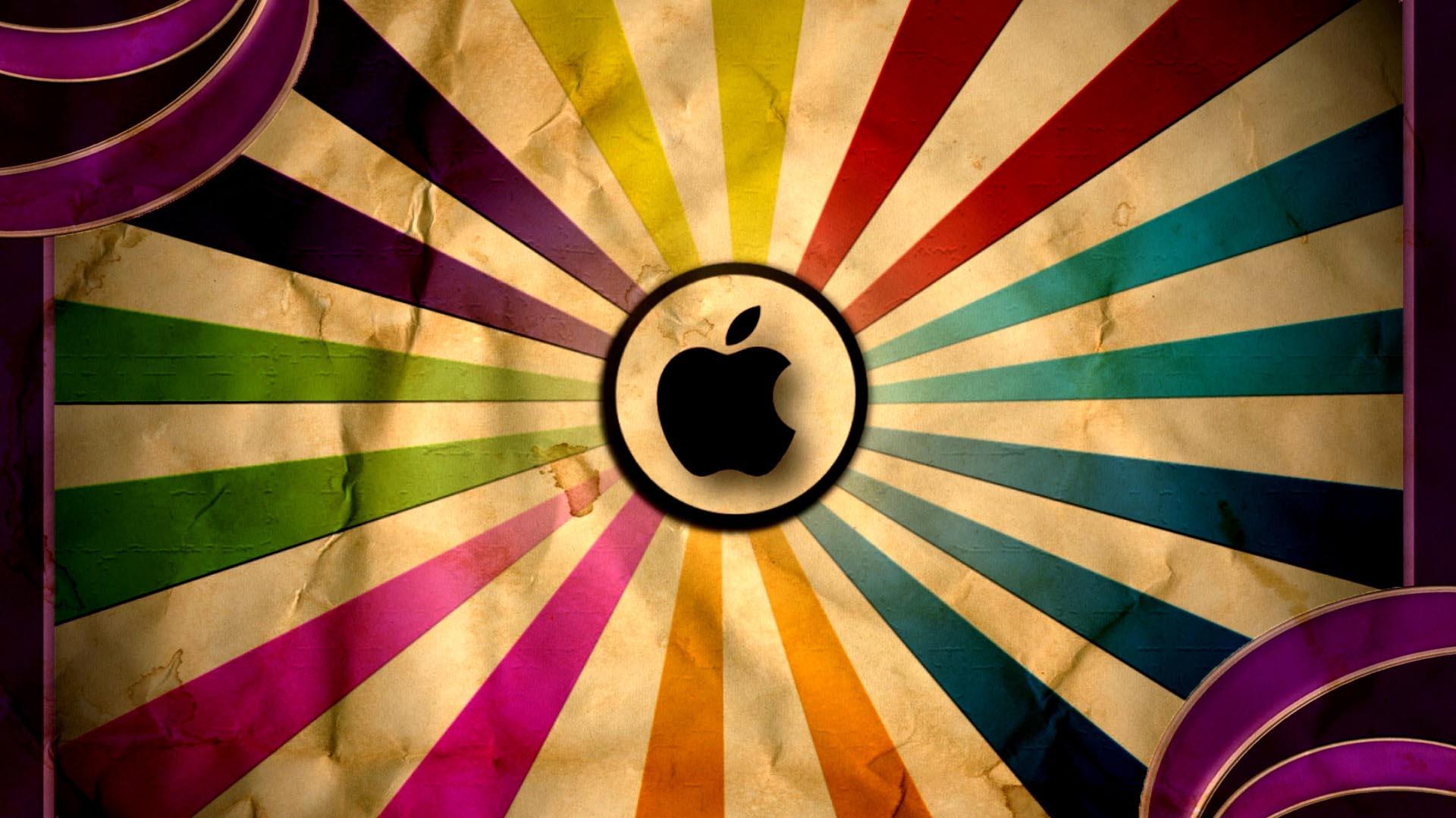 Hình nền quả táo cắn dở iPhone