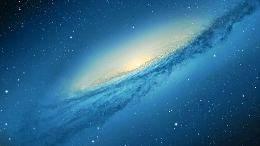 Ảnh dải ngân hà xanh