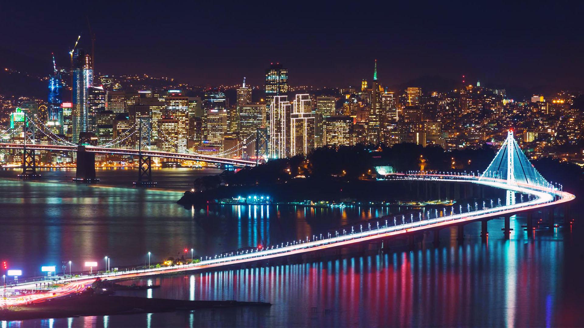 Ảnh đẹp thành phố đêm