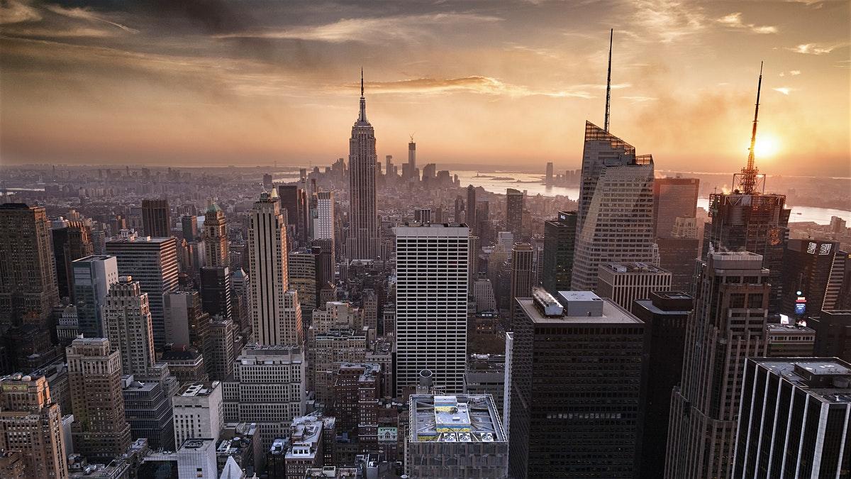 Ảnh đẹp thành phố New York từ trên cao