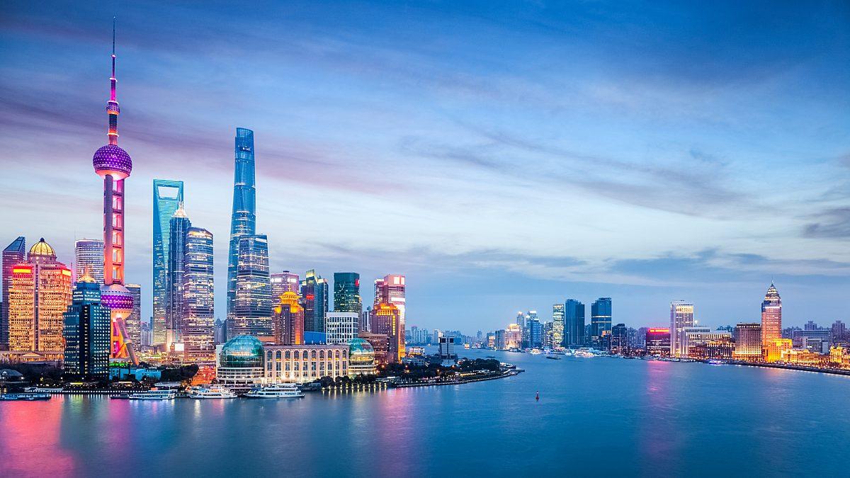 Ảnh thành phố Thượng Hải về đêm