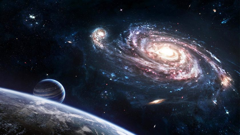 Hình ảnh các hành tinh trong dải ngân hà