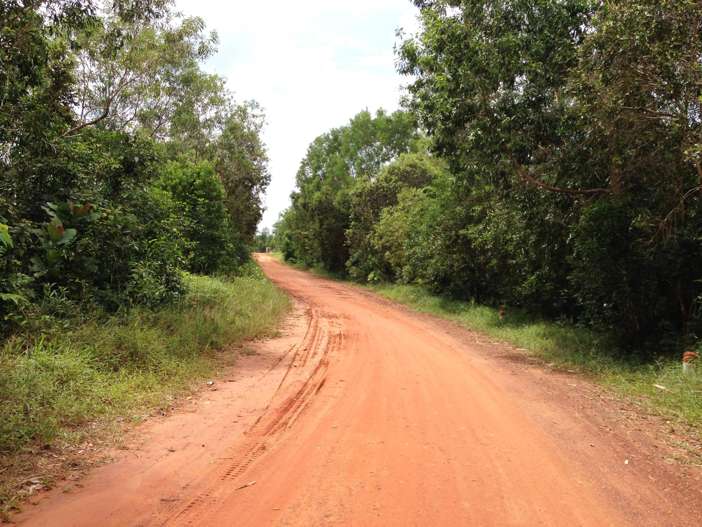 Hình ảnh con đường đất