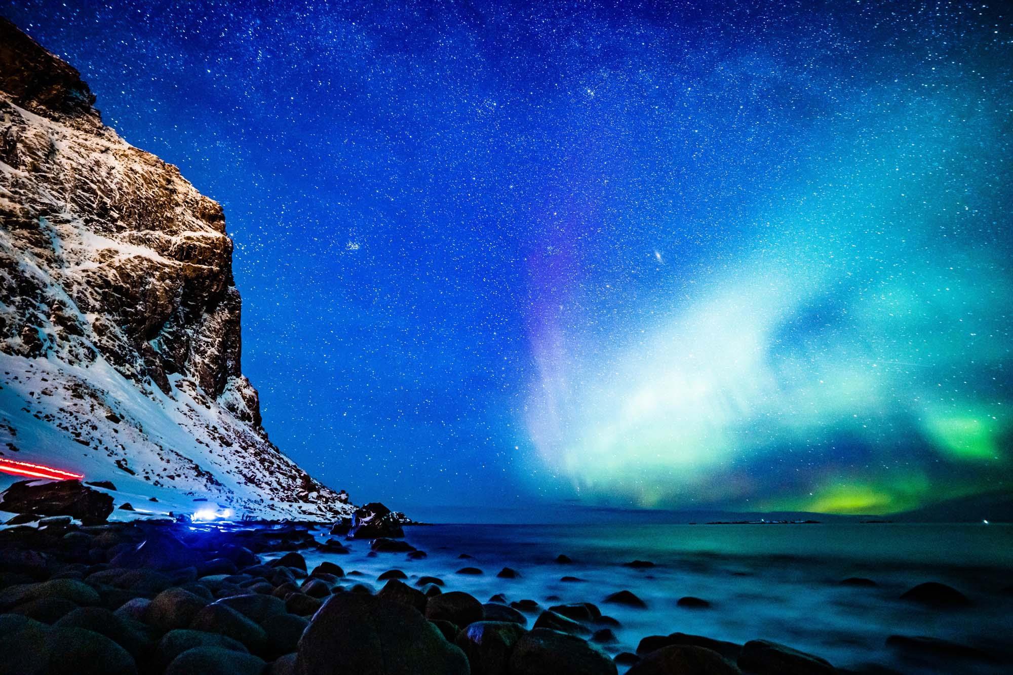 Hình ảnh dải ngân hà đẹp dưới trái đất