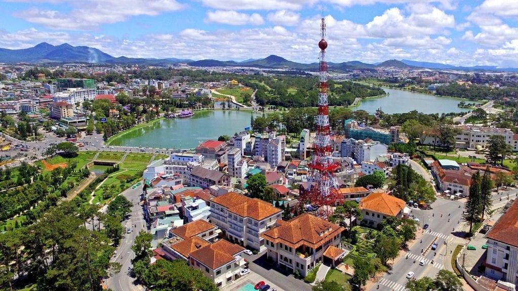 Hình ảnh thành phố Đà lạt