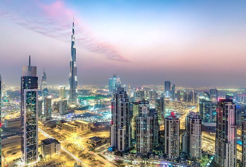 Hình ảnh thành phố Dubai đẹp