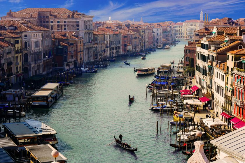 Hình ảnh thành phố nước Ý