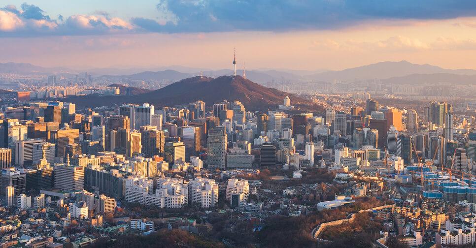 Hình ảnh thành phố ở Hàn Quốc