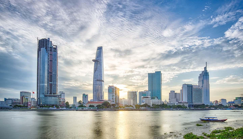 Hình ảnh thành phố Sài Gòn đẹp