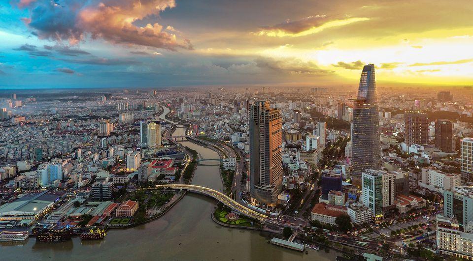 Hình ảnh thành phố Sài Gòn