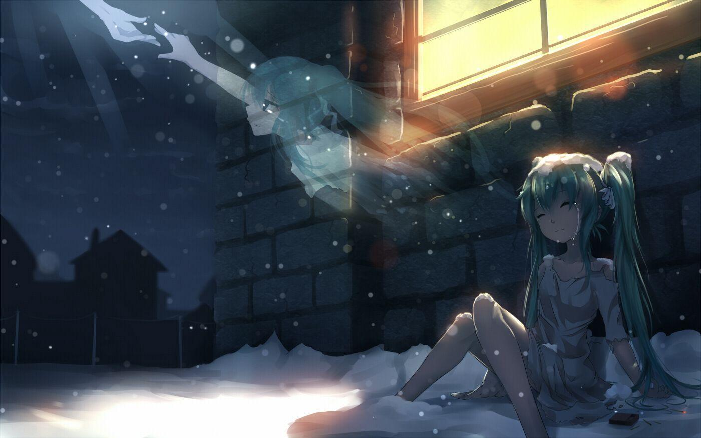 ảnh anime girl cô đơn