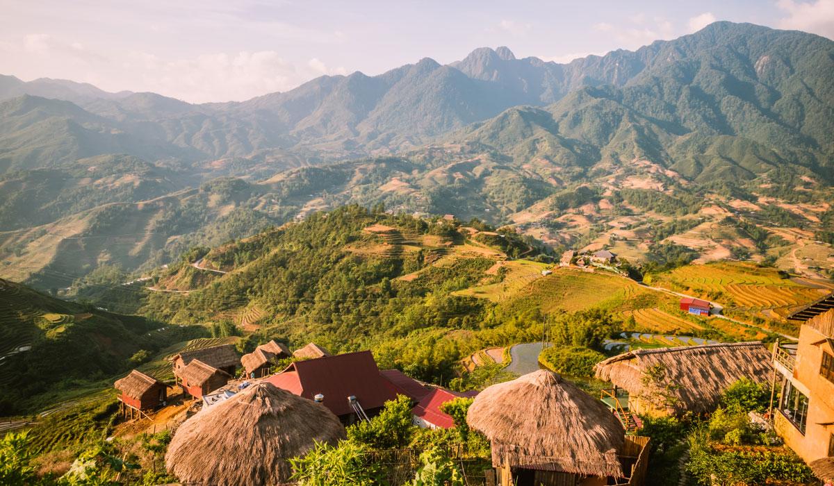 Hình ảnh quê hương em ở vùng cao Sa Pa