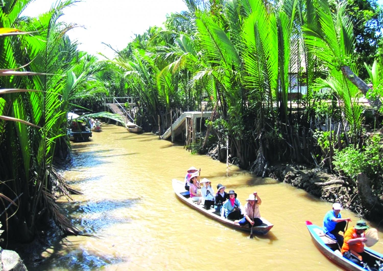 Hình ảnh quê hương sông nước miệt vườn