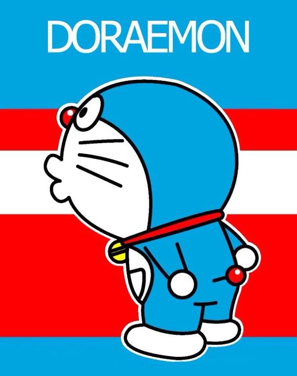 Chú mèo máy Doraemon đáng yêu chu mỏ