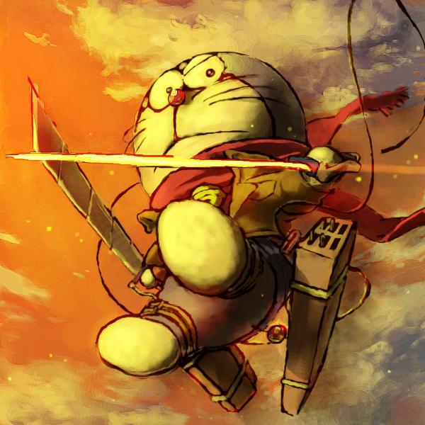 Hình ảnh chú mèo máy Doraemon trong SNY