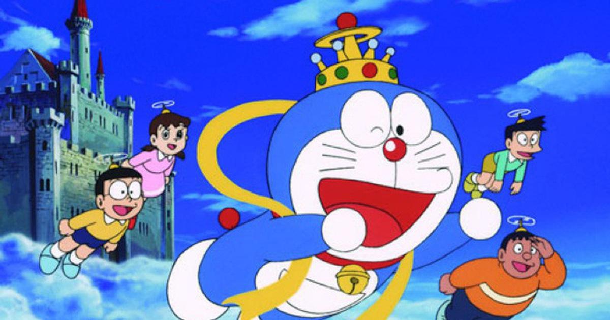 Hình ảnh Doraemon cực đẹp và các bạn