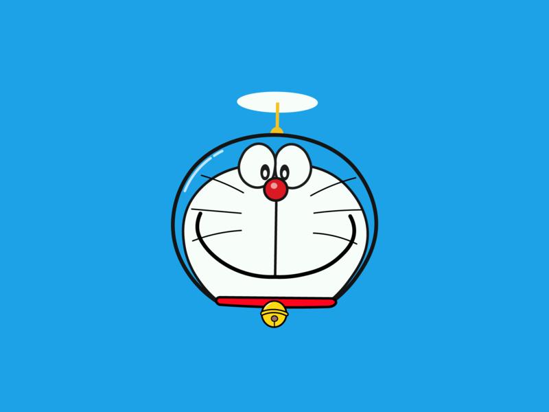 Hình ảnh mặt chú mèo máy Doreamon