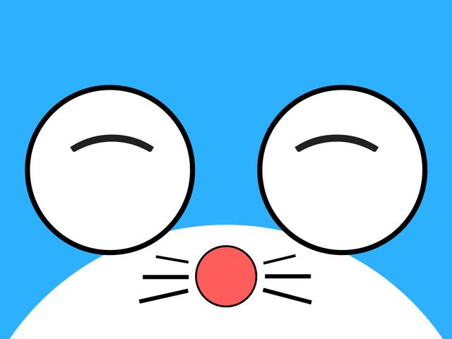 Hình ảnh mặt Doraemon đáng yêu