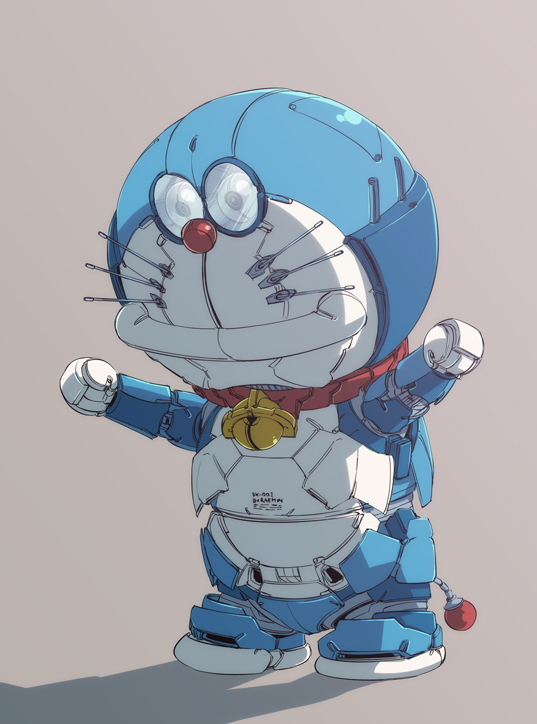 Hình ảnh người máy Doraemon