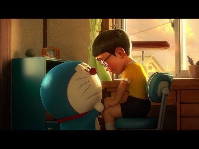 Khung cảnh buồn của Doraemon và người bạn Nobita