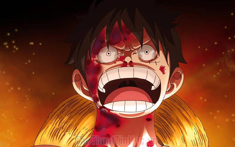 Ảnh Luffy ngầu cực đẹp