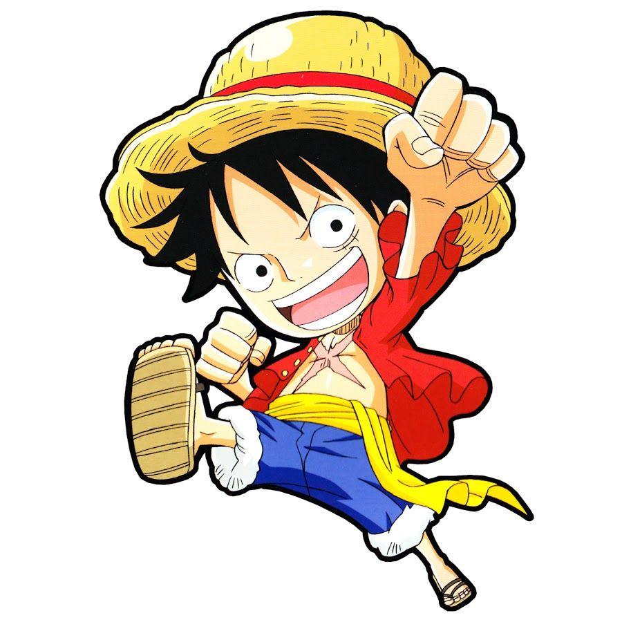 HHình ảnh Luffy chibi thủ thế rất ngầu