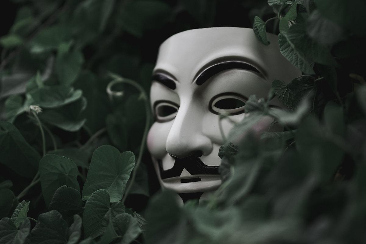 Hình ảnh chiếc mặt nạ Hacker