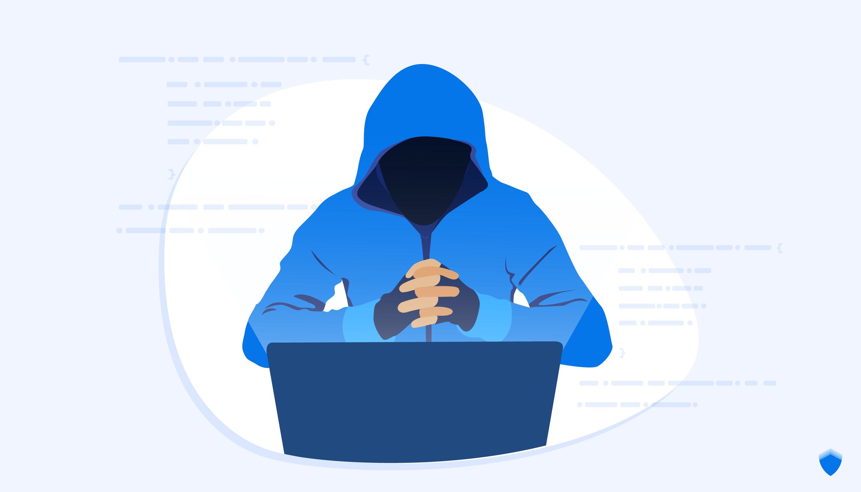Hình ảnh Hacker áo xanh